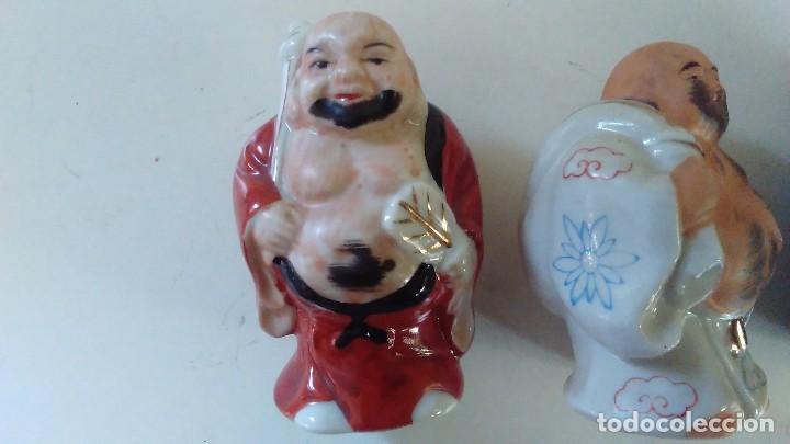 Antigüedades: Conjunto de cuatro figuras chinas de porcelana - Foto 2 - 121862311