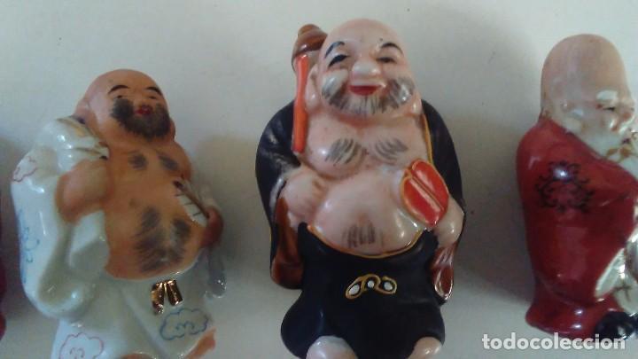 Antigüedades: Conjunto de cuatro figuras chinas de porcelana - Foto 4 - 121862311
