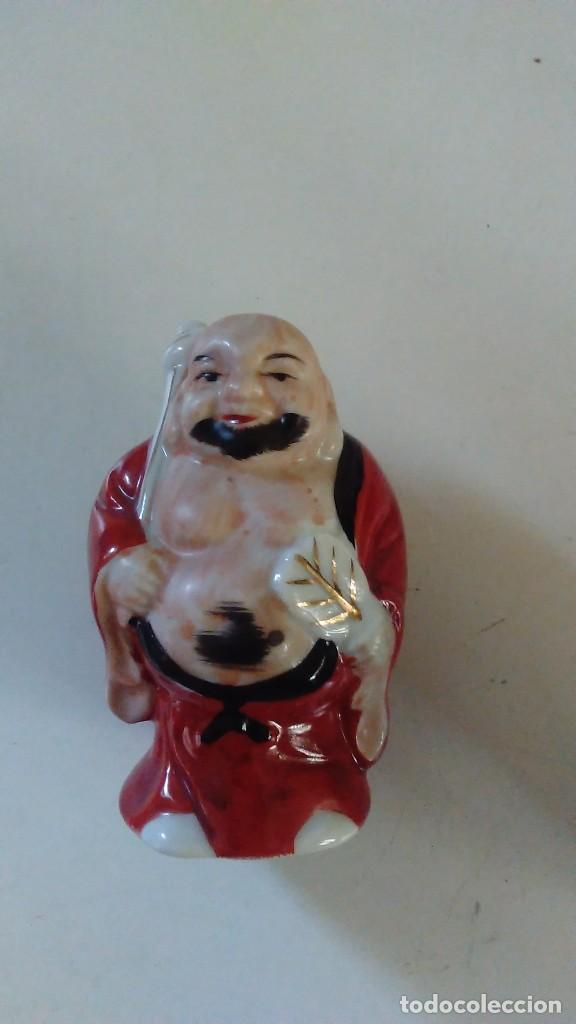 Antigüedades: Conjunto de cuatro figuras chinas de porcelana - Foto 14 - 121862311