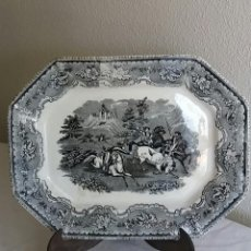 Antigüedades: BANDEJA DE CARTAGENA OCHAVADA,S . XIX .. Lote 121895771