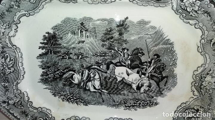 Antigüedades: Bandeja de Cartagena ochavada,S . XIX . - Foto 2 - 121895771