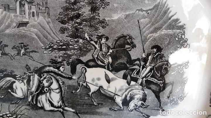 Antigüedades: Bandeja de Cartagena ochavada,S . XIX . - Foto 10 - 121895771