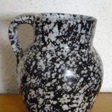 Antigüedades: PUCHERO CERÁMICA CON DECORACIÓN JASPEADA PUENTE AZOBISPO ( TOLEDO ) NEBOT C. 1930. Lote 121936303