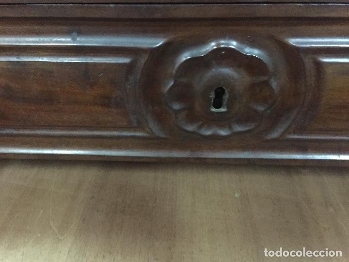 Antigüedades: Sifonier Isabelino de caoba i palma de caoba - Foto 5 - 121942103