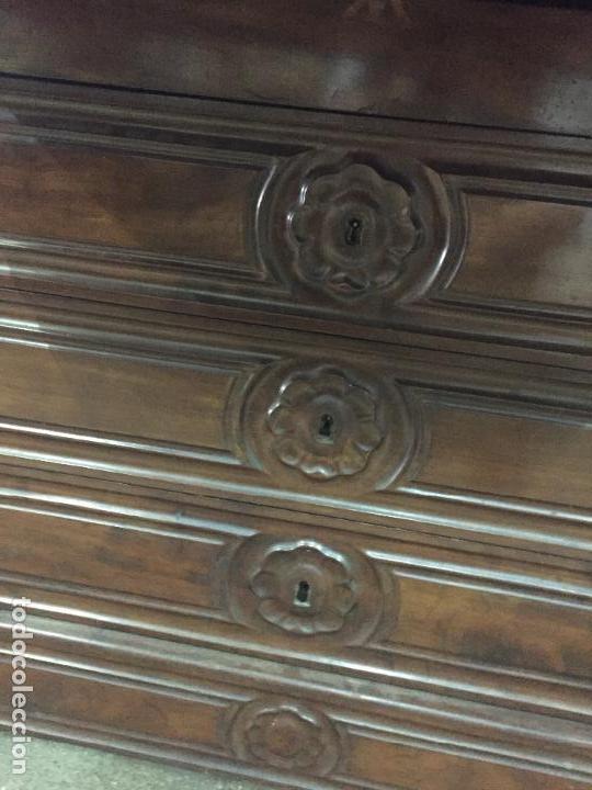 Antigüedades: Sifonier Isabelino de caoba i palma de caoba - Foto 7 - 121942103