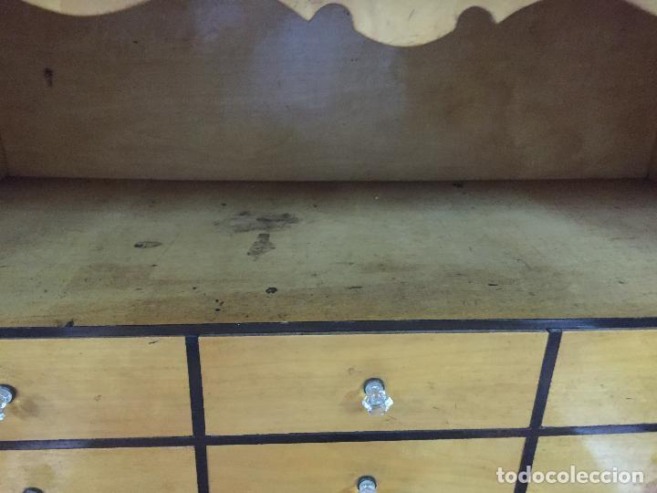 Antigüedades: Sifonier Isabelino de caoba i palma de caoba - Foto 10 - 121942103