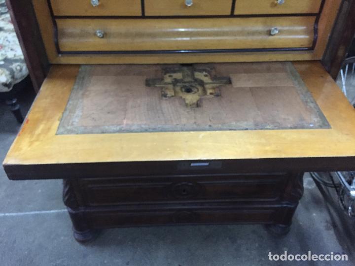 Antigüedades: Sifonier Isabelino de caoba i palma de caoba - Foto 13 - 121942103