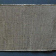 Antigüedades: ANTIGUA CINTA - GALON DE SEDA Y TERCIOPELO PRINCIPIO DE S.XX. Lote 121994215