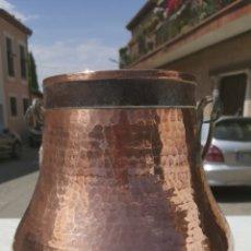 Antigüedades: CALDERO DE COBRE. Lote 122003078