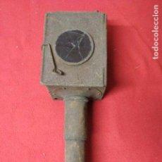 Antigüedades: ANTIGUO FAROL DE CARRO. Lote 122041955