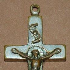 Antigüedades: CRUZ PECTORAL RELICARIO PADRE CLARET-005. Lote 122042823