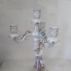 Antigüedades: PORTAVELAS. Lote 122081922