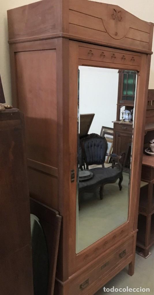 Antigüedades: Mueble con espejo - Foto 2 - 122094771