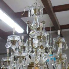 Antiques: MAGNIFICA LAMPARA DE ARAÑA. PRIMERA MITAD SIGLO XX. Lote 122100087