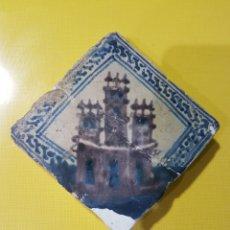 Antigüedades: AZULEJO SIGLO XV MANISES. Lote 122107128