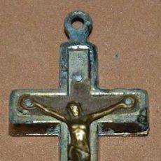 Antigüedades: CRUZ PECTORAL RELICARIO ROMA-006. Lote 122117751
