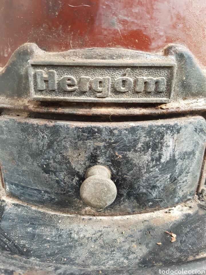 Antigüedades: ESTUFA DE LEÑA HERGOM - Foto 2 - 122123104