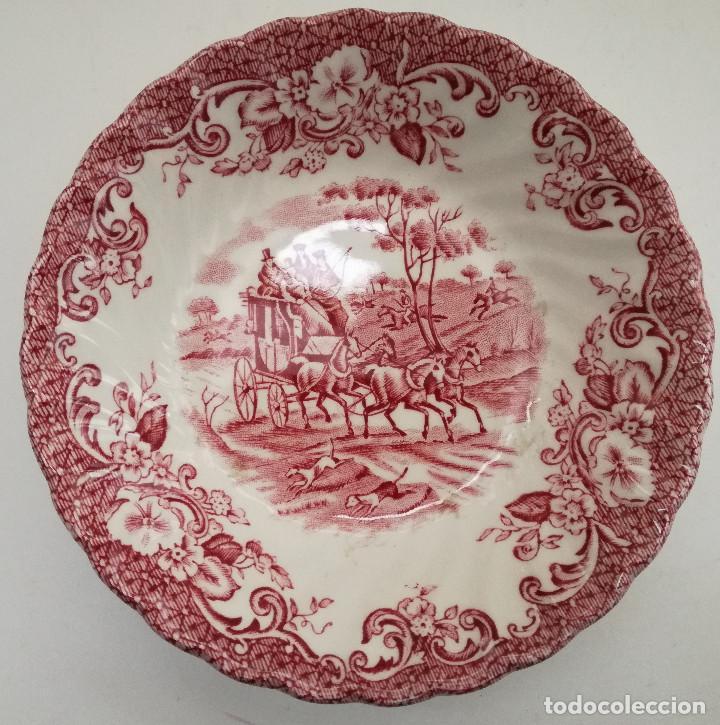 CUENCO CERÁMICA PORCELANA INGLESA INFORMACIÓN EN FOTO (Antigüedades - Porcelanas y Cerámicas - Inglesa, Bristol y Otros)