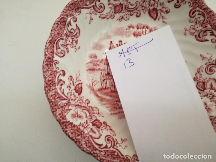 Antigüedades: Cuenco cerámica porcelana inglesa información en foto - Foto 2 - 122124191