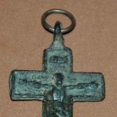 Antigüedades: CRUZ PECTORAL DEL SIGLO XVIII-016. Lote 122135303