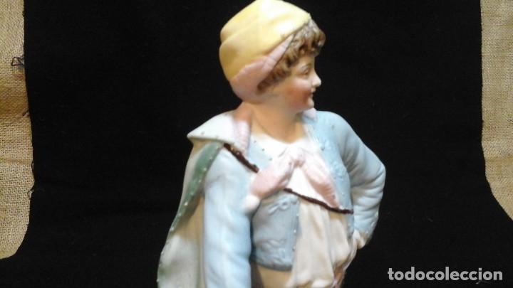 Antigüedades: Biscuit siglo XIX . Ver tamaño . Muy buen estado de conservación . - Foto 9 - 122156863