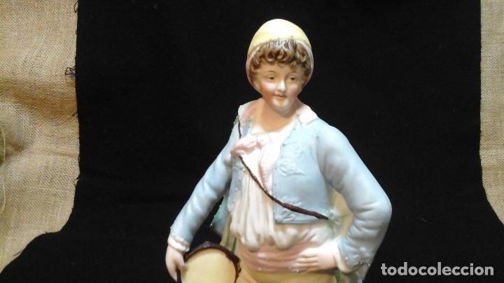Antigüedades: Biscuit siglo XIX . Ver tamaño . Muy buen estado de conservación . - Foto 3 - 122156863