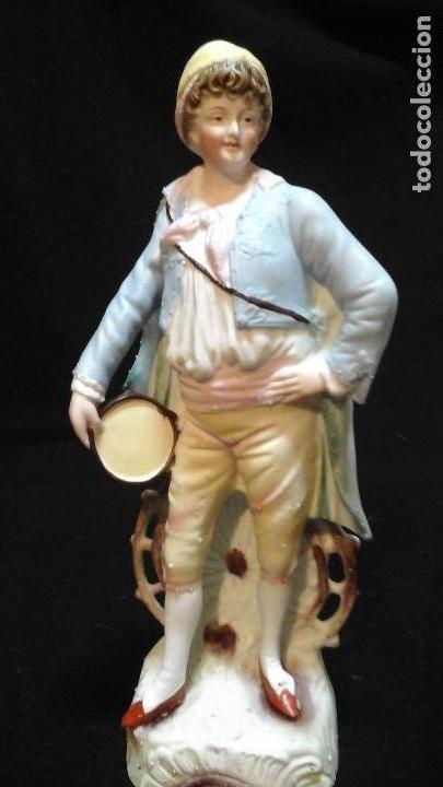 BISCUIT SIGLO XIX . VER TAMAÑO . MUY BUEN ESTADO DE CONSERVACIÓN . (Antigüedades - Porcelana y Cerámica - Alemana - Meissen)