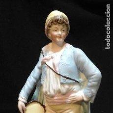 Antigüedades: BISCUIT SIGLO XIX . VER TAMAÑO . MUY BUEN ESTADO DE CONSERVACIÓN .. Lote 122156863
