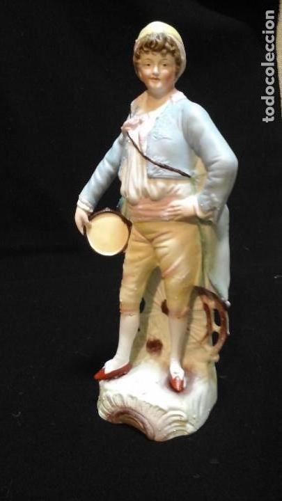 Antigüedades: Biscuit siglo XIX . Ver tamaño . Muy buen estado de conservación . - Foto 13 - 122156863