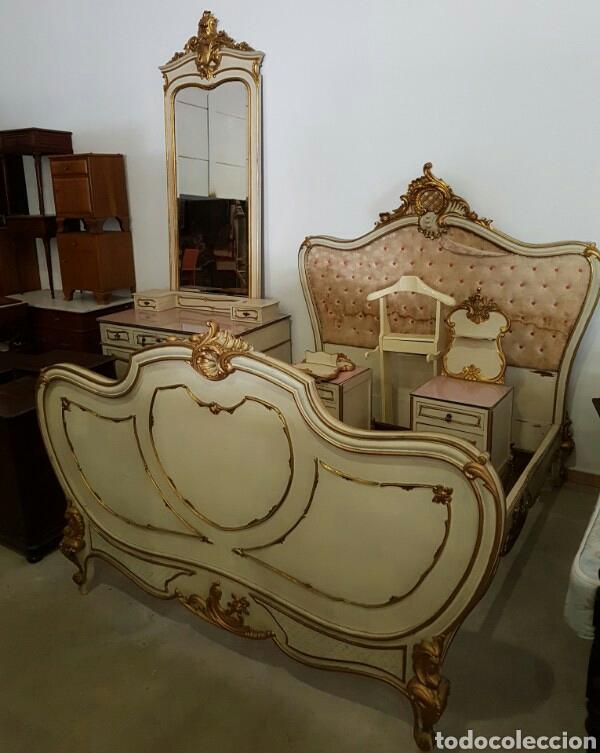 dormitorio madera maciza y capitone mesillas ca - Comprar Camas ...