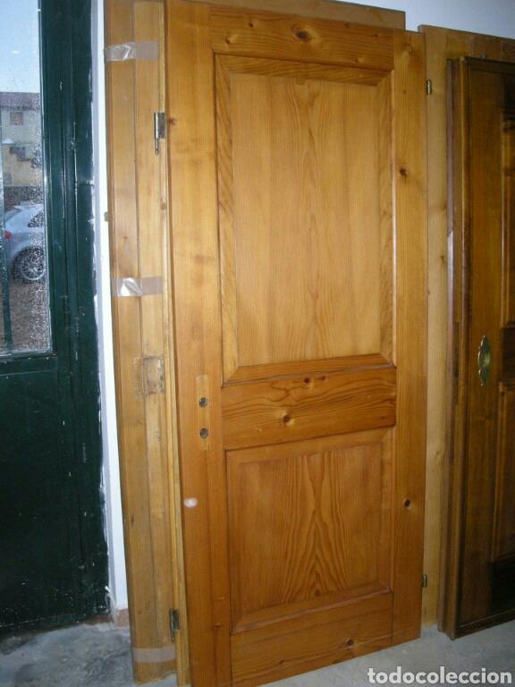 Puertas Antiguas De Paso De Madera Maciza Muy B Buy Other Antiques At Todocoleccion 122157159