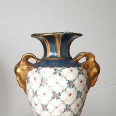 Antigüedades: PAREJA-PORCELANA PARIS-C.1.850-1.875. Lote 53395376