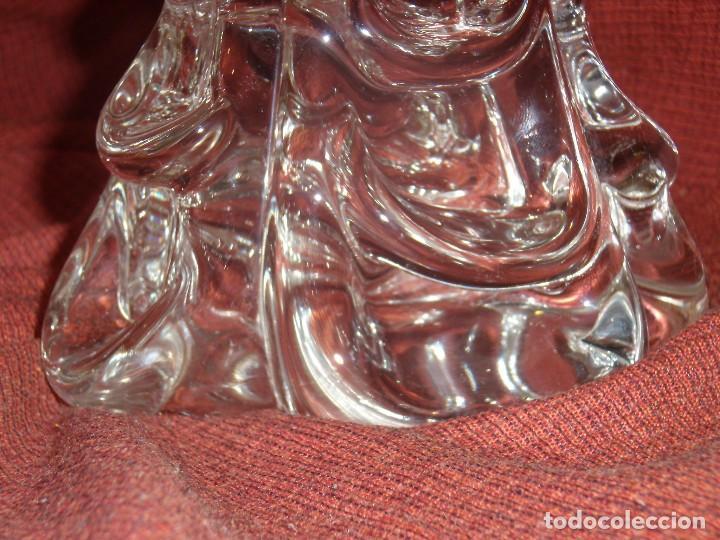 Antigüedades: Figura Tiburón cristal de Murano, años 70, altura 41 cm, Nueva sin usar. - Foto 9 - 122177907