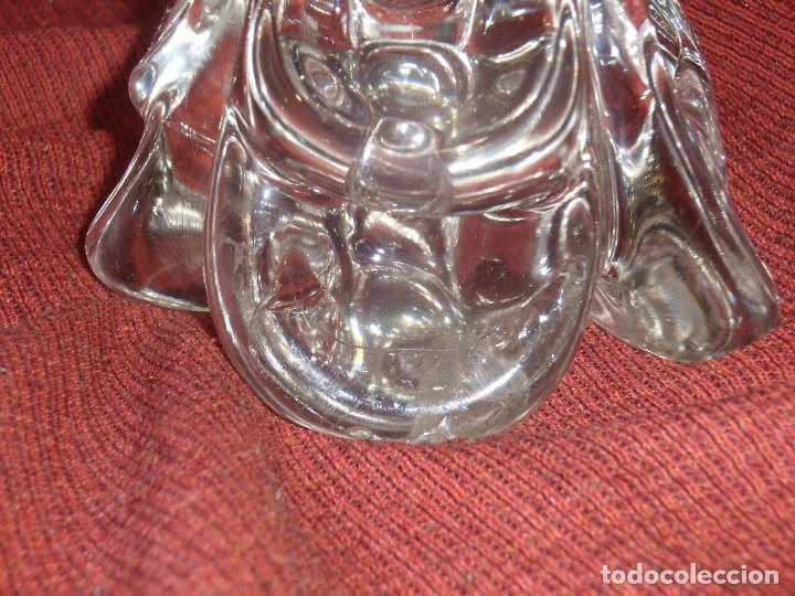 Antigüedades: Figura Tiburón cristal de Murano, años 70, altura 41 cm, Nueva sin usar. - Foto 10 - 122177907