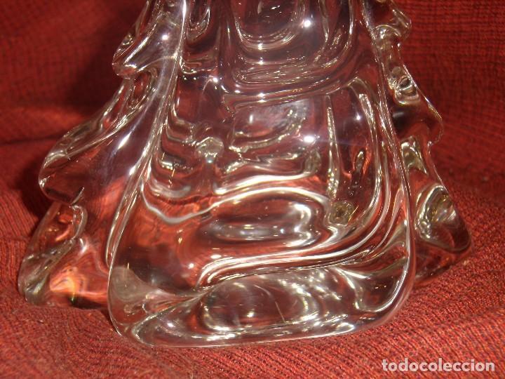 Antigüedades: Figura Tiburón cristal de Murano, años 70, altura 41 cm, Nueva sin usar. - Foto 12 - 122177907