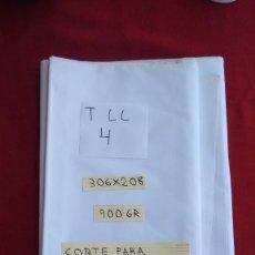 Antigüedades: CORTE PARA SÁBANA. ALGODÓN DE CALIDAD DALMASES. (TLL4). Lote 166000513