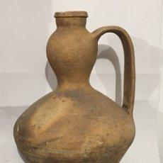 Antigüedades: ANTIGUO CÁNTARO DE BARRO POPULAR - MOVEROS - ZAMORA. Lote 122203815