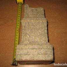Antigüedades: TORRE DE LOS ESCIPIONES ESCULTURA PIEDRA 20CM CHIVITE TARRAGONA. Lote 122249543