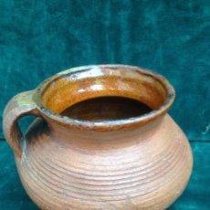 Antigüedades: FAJALAUZA PUCHERILLO DE OTURA ALFAR EXTINGUIDO. Lote 122262591