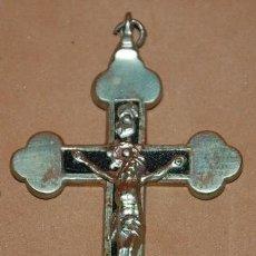 Antigüedades: CRUZ PECTORAL TREBOLADA DEL SIGLO XIX-026. Lote 122284191