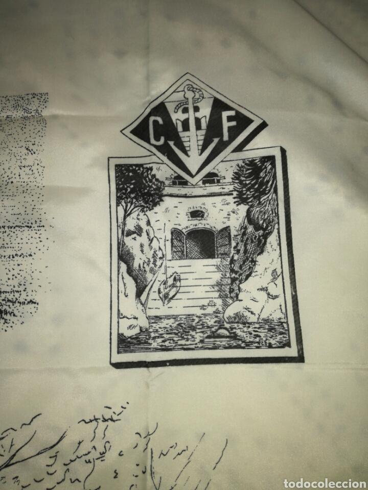 Antigüedades: Gran pañuelo cala fondo - Foto 2 - 122291715