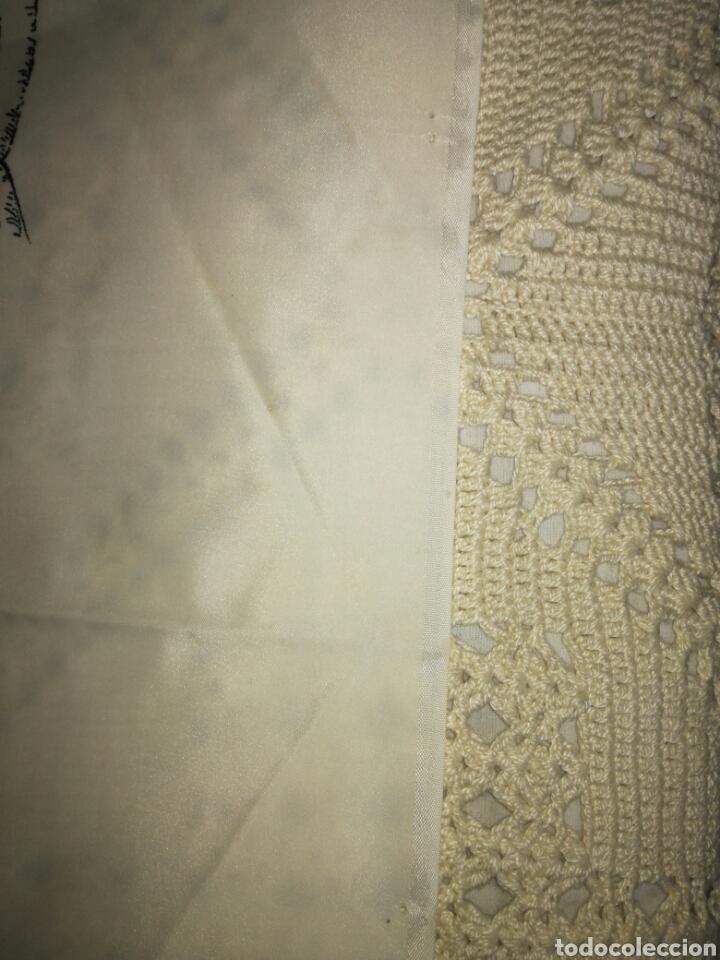 Antigüedades: Gran pañuelo cala fondo - Foto 6 - 122291715