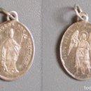Antigüedades: MEDALLA SAN BLAS Y ANGEL DE LA GUARDA. Lote 122301355