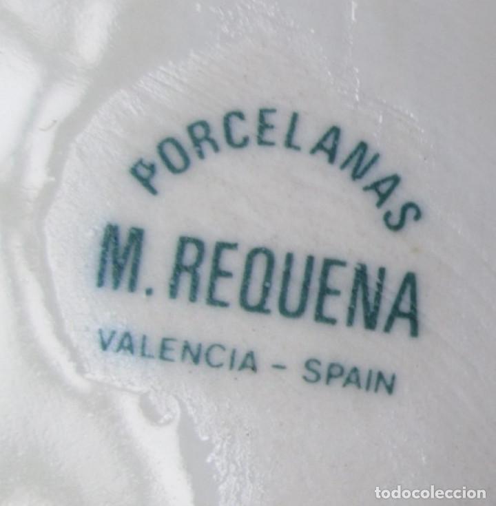 Antigüedades: PAREJA LOROS de porcelana -- Porcelanas M. REQUENA Valencia – Spain - Foto 6 - 122303059