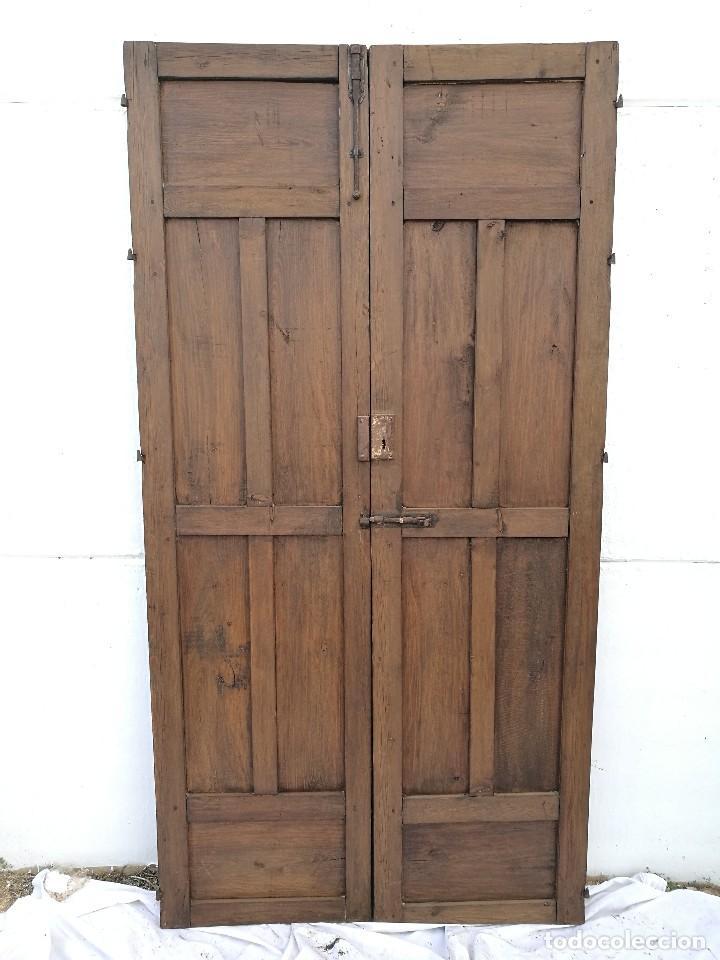 Antigüedades: Puerta antigua de interior - Foto 2 - 122313695