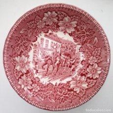 Antigüedades: CUENCO CERÁMICA PORCELANA INGLESA INFORMACIÓN EN FOTO. Lote 122339955