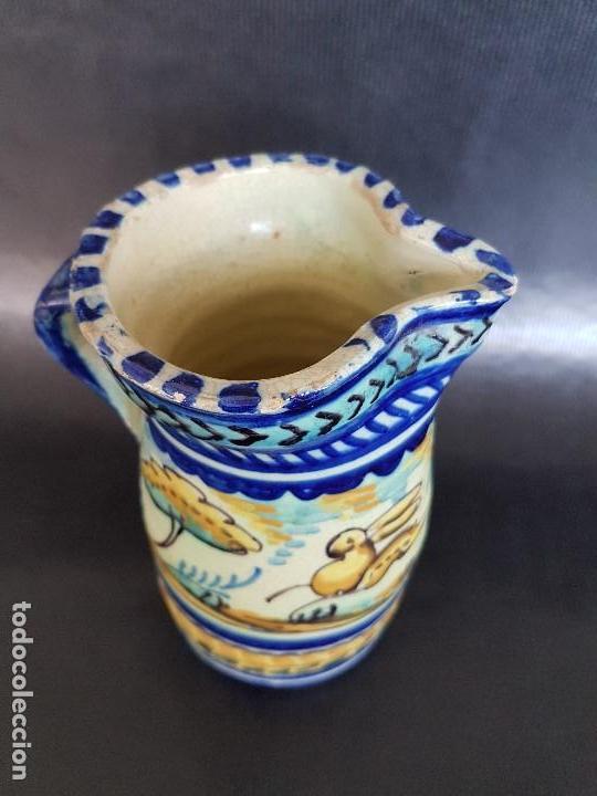 Antigüedades: TRIANA INTERESANTE JARRA. - Foto 2 - 122368875