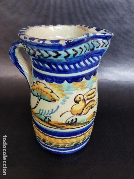 TRIANA INTERESANTE JARRA. (Antigüedades - Porcelanas y Cerámicas - Triana)