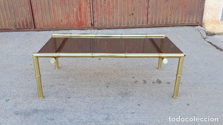 mesa de centro de salón de metal tipo caña o ba - Comprar Mesas ...