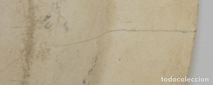Antigüedades: GRAN PLATO EN CERAMICA PICKMAN & CIA (semi china) SIGLO XIX. LA CARTUJA SEVILLA. 38,5 CM. DIAMETRO - Foto 10 - 122425859